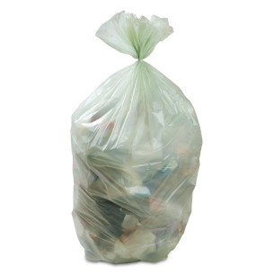 foto 6: sacco di rifiuti organici in cui si e' nascosto Jooseppi Karjalainen