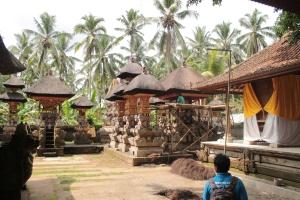 Templio Balinese immerso nella giungla